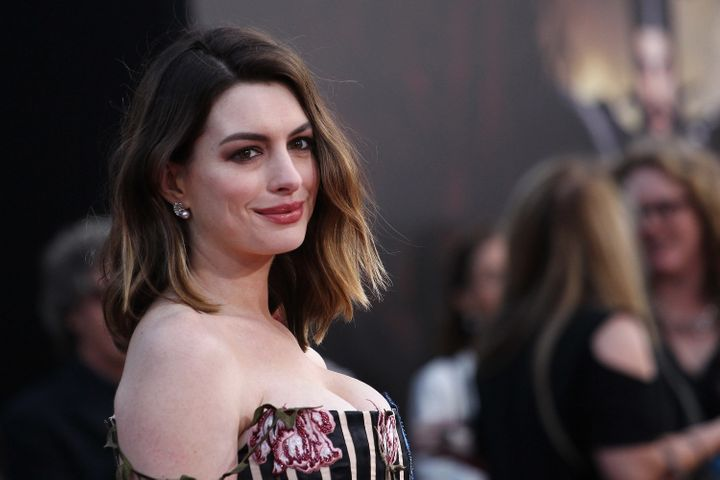 Anne Hathaway onMay 23 in Hollywood.