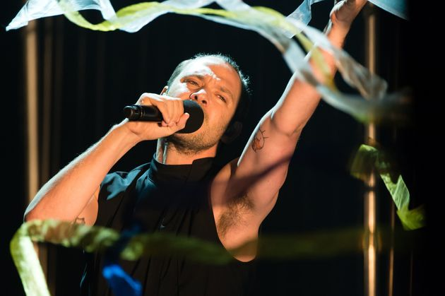 Will Young performing in concert last