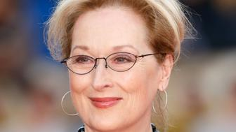 LONDON, UNITED KINGDOM - APRIL 12: (EMBARGOED FOR PUBLICATION IN UK NEWSPAPERS UNTIL 48 HOURS AFTER CREATE DATE AND TIME) Meryl Streep arrives for the UK film premiere of 'Florence Foster Jenkins' at Odeon Leicester Square on April 12, 2016 in London, England. (Photo by Max Mumby/Indigo/Getty Images)