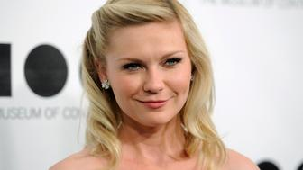 Actress Kirsten Dunst attends the 2011 Museum of Contemporary Art (MOCA) Gala in Los Angeles November 12, 2011. REUTERS/Phil McCarten (UNITED STATES - Tags: ENTERTAINMENT HEADSHOT)
