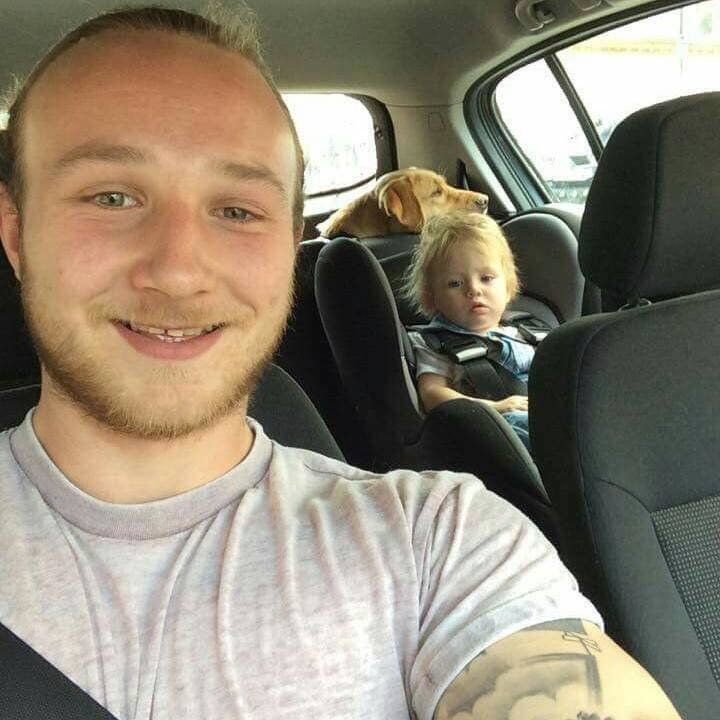 Andy Roberts, who tragically took his own life earlier this year, and his young
