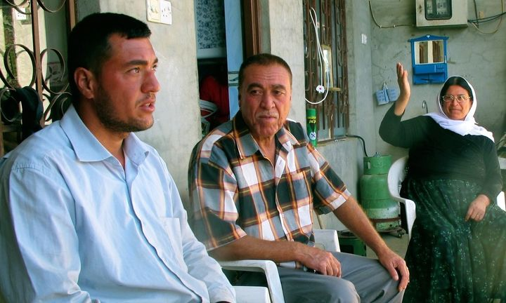 Firas Elias and his family members are among the few Yazidis who returned to their home city of Sinjar since Kurdish forces t