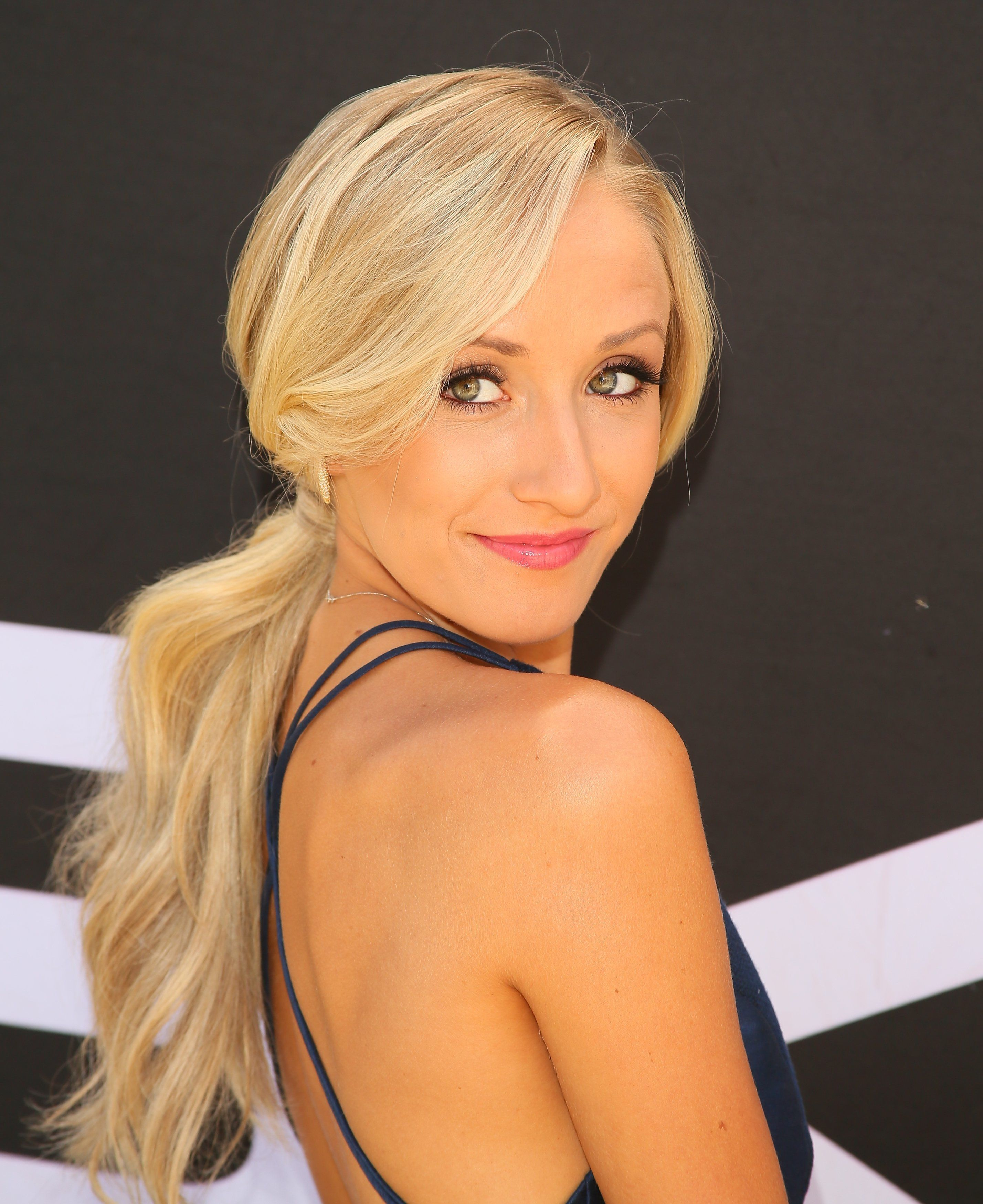 LOS ANGELES, CA - JULY 13: Olympic gymnast Nastia Liukin attends the Greg Louganis' Pre-ESPY Awards Wheaties Breakfast for Champions at the Starving Artists Project on July 13, 2016 in Los Angeles, California. (Photo by JB Lacroix/WireImage)