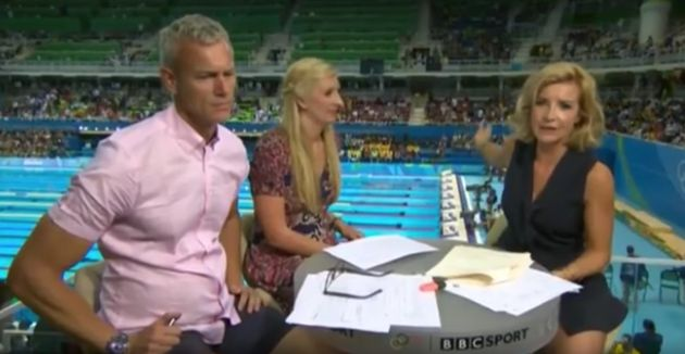 Helen Skelton has been covering the 2016 Olympics for the