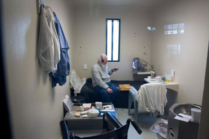 At 82, Albert is the oldest and longest serving inmate in Maine State. He's classified as high risk because he has successful