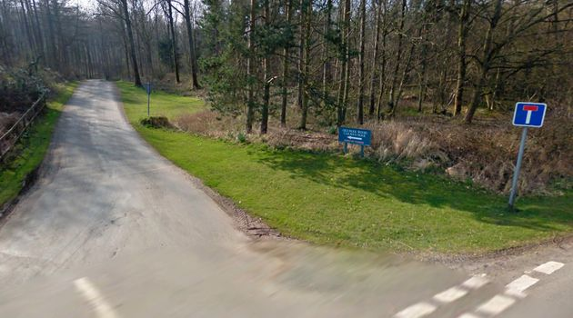 The entrance to Old Park Wood holiday park in Grange-over-Sands,