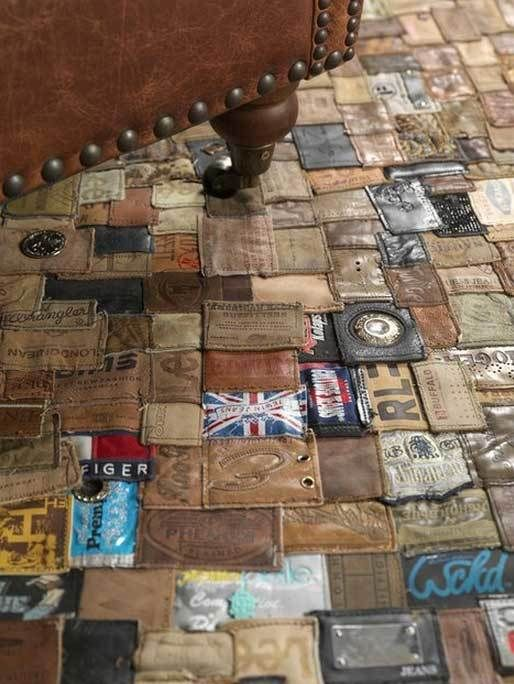 "<a href=""http://kingsofsweden.de/product/jeans-label-rug-240-x-160-cm"" target=""_blank"">The Jean LabelsRug</a>"