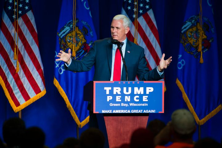 Indiana Gov. Mike Pence has gone back and forth on the issue, but he now appears to be all in.