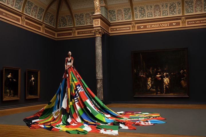 Amsterdam Rainbow Dress.