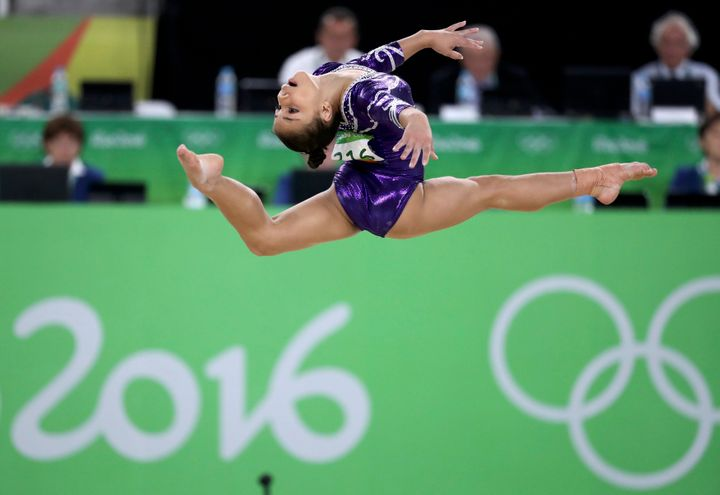 Brazilian gymnast Flávia Saraiva hopes to medal in her hometown's Olympic Games.
