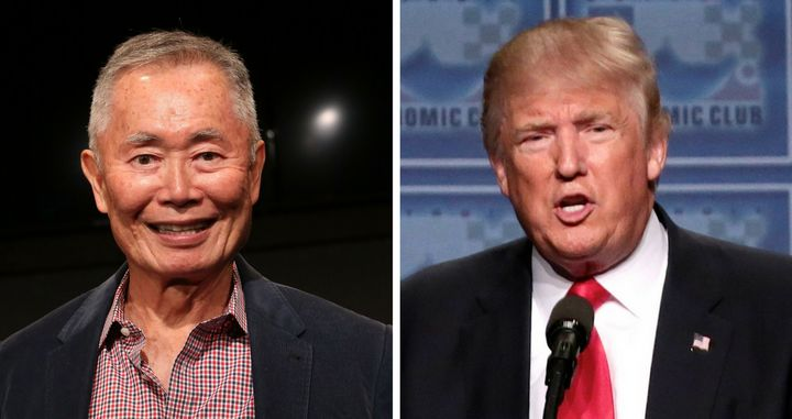 George Takei's latest Trump diss is awesome AF.