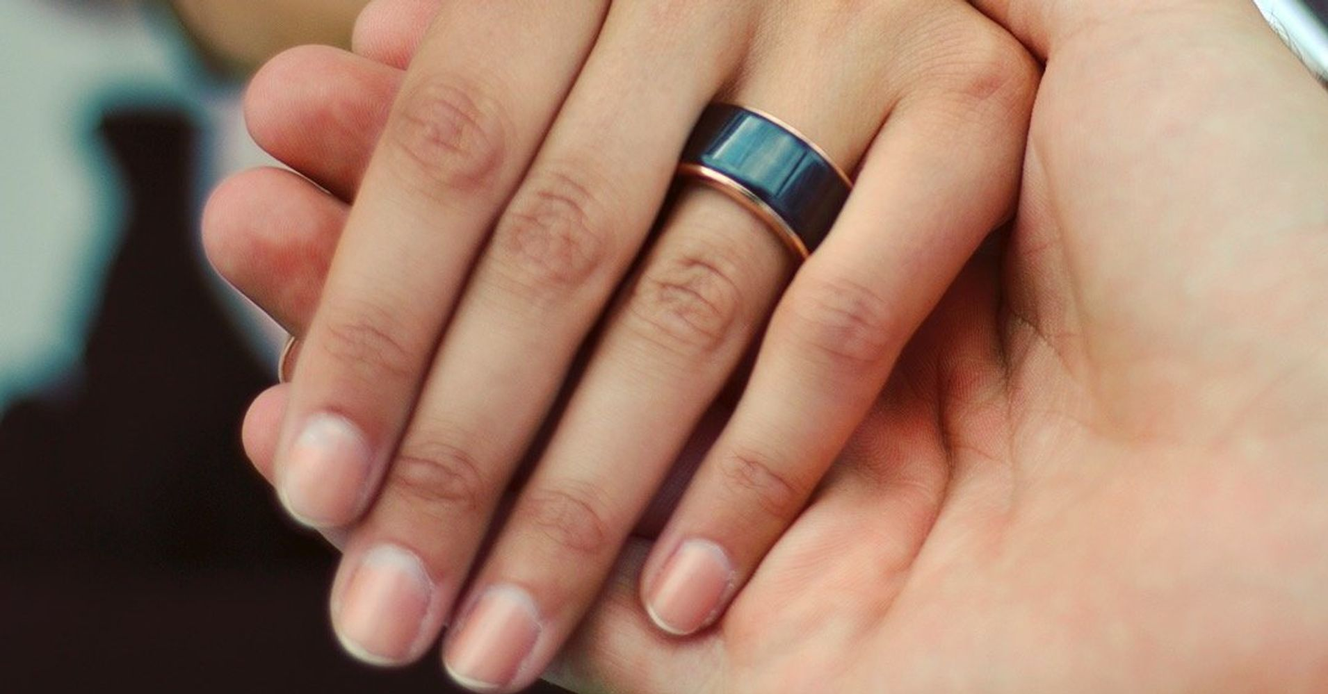 this ring lets you feel your spouse s heartbeat in real time huffpost