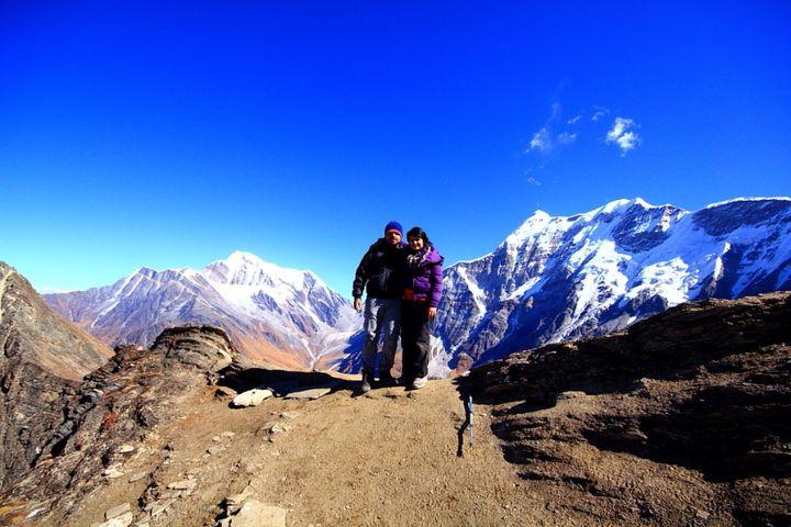 The summit, Junargali @ 16,200 feet above sea level!