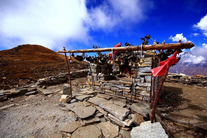 Kaluva Vinayak Temple at an altitude of 14,000 feet!