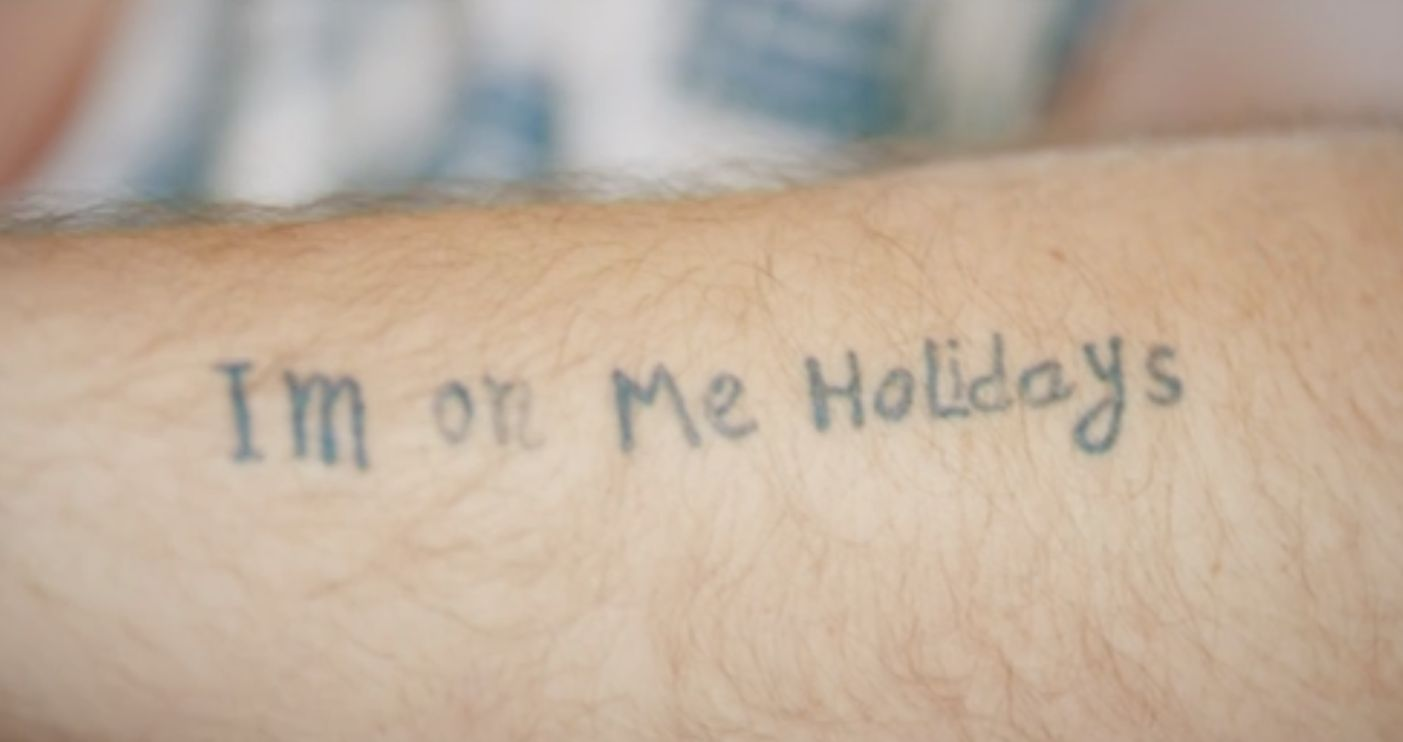 The holiday tattoo that was covered