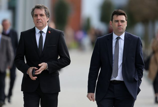 Labour mocked from within over its 'man date' for regional mayors