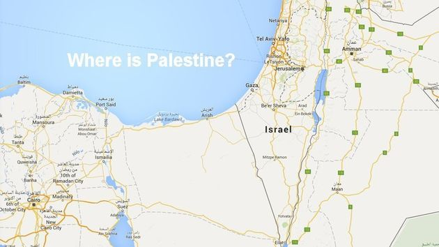 Palestine Removed From Google Maps Claim Journalists - But That\'s ...
