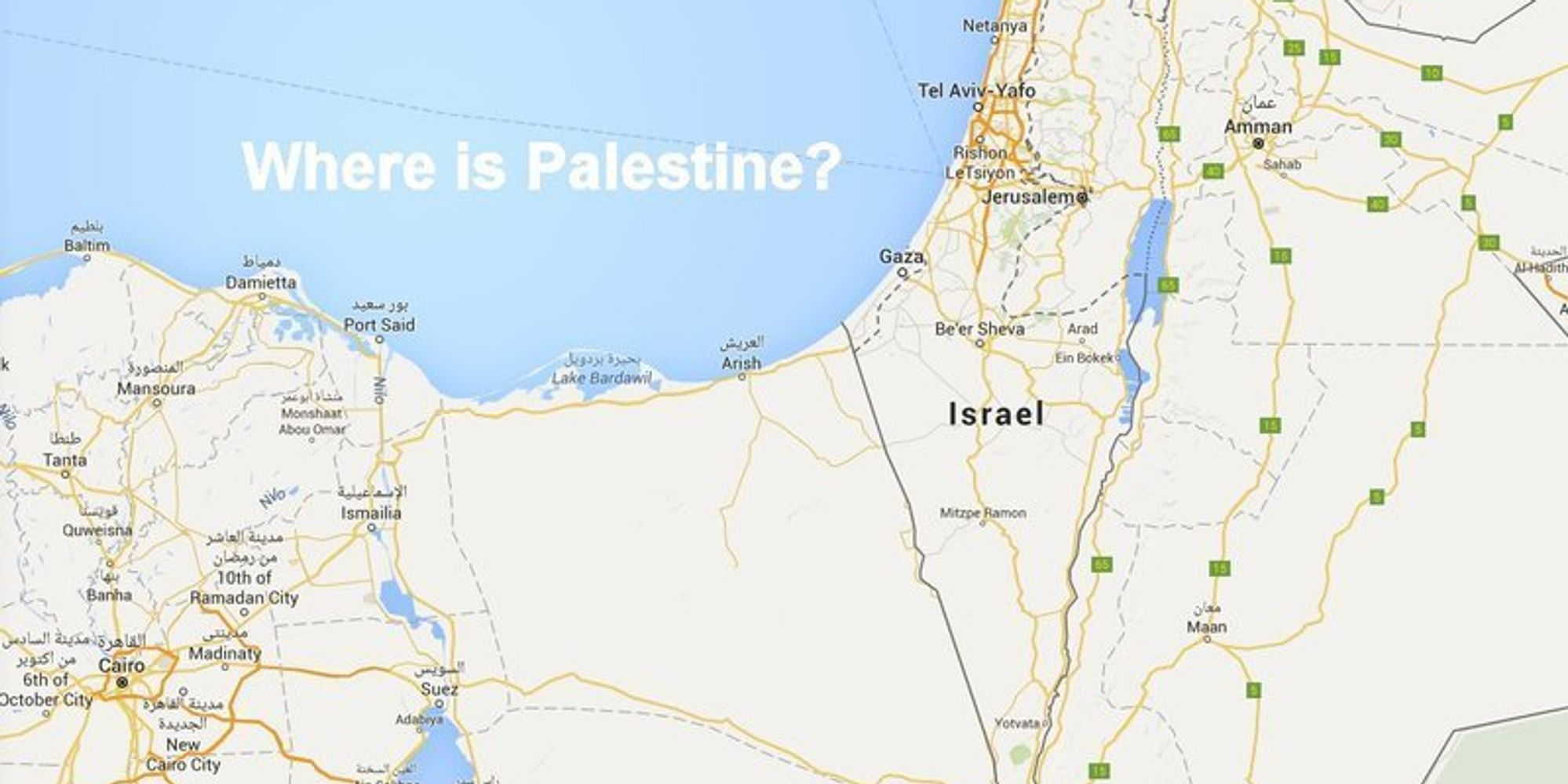 Palestine Removed From Google Maps Claim Journalists