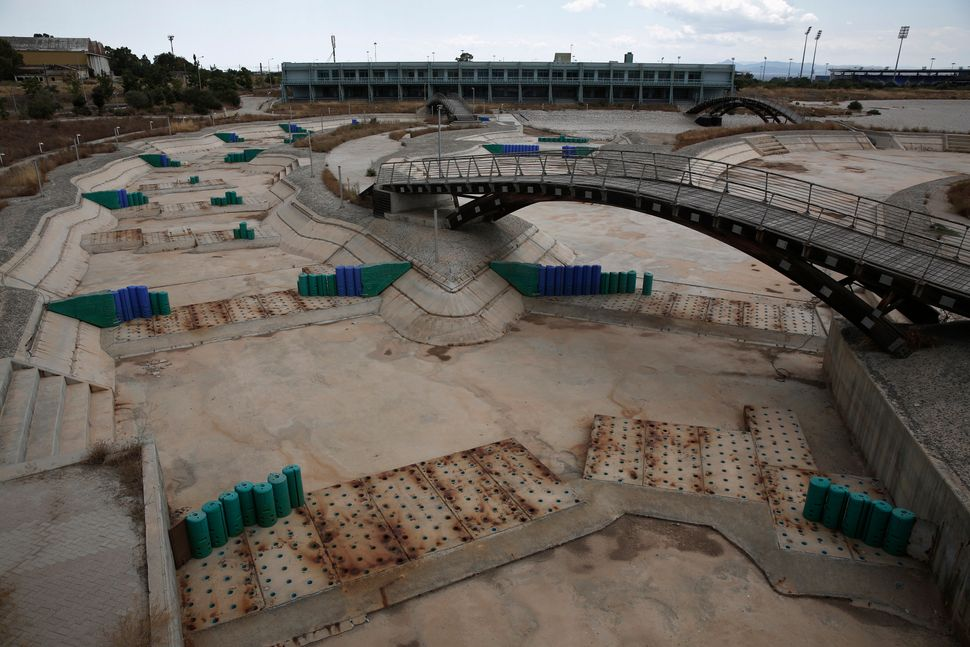 These Eerie Photos Show The Ghosts Of Olympics Past Huffpost