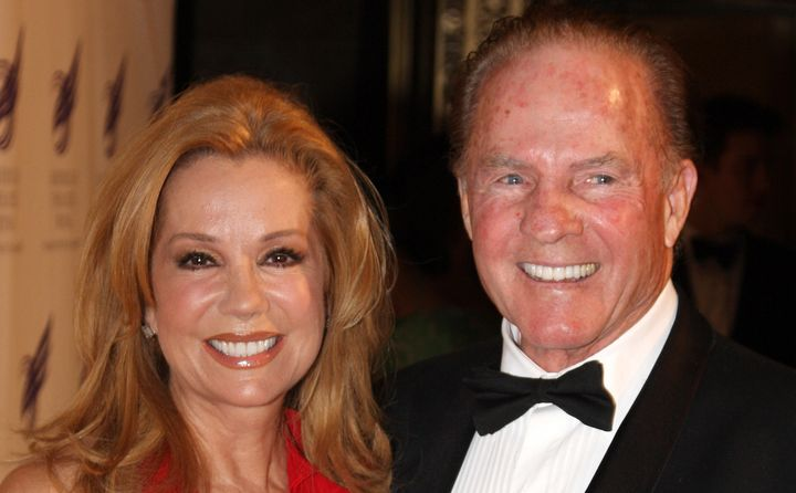 Kathie Lee and Frank Gifford in 2009.