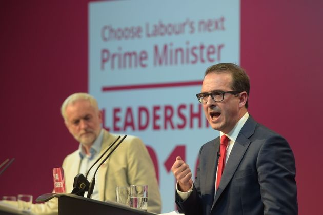 Jeremy Corbyn's (left) campaign said GMB's endorsement of Owen Smith (right) was due to a campaign by...