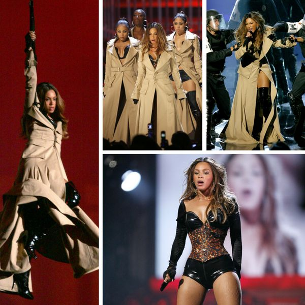 """Beyoncé performs """"Ring the Alarm"""" during the 2006 MTV Video Music Awards."""