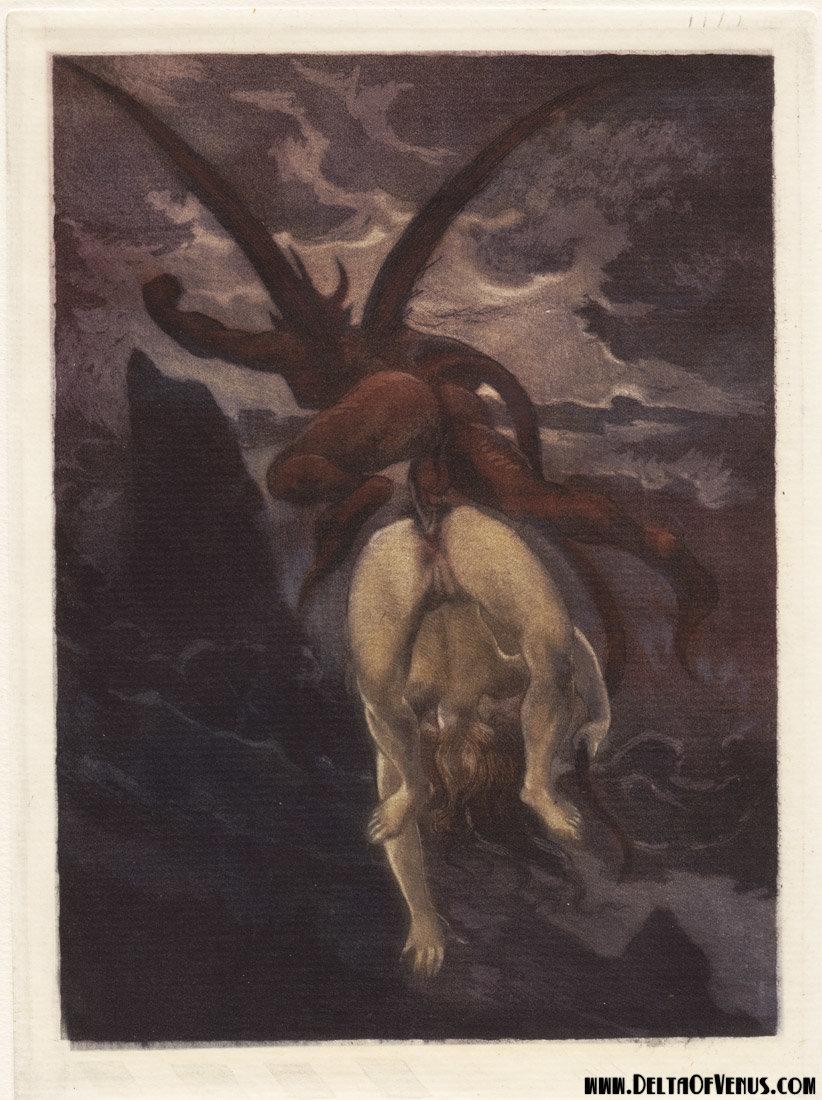 Nude illustrations vintage