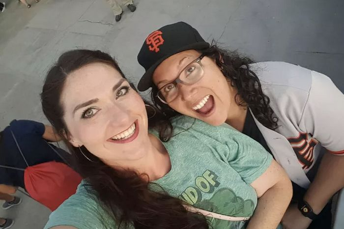 """On Friday, Giuliana Garcia and Calista Nabors attended the Mariners&rsquo; home game against the Anaheim <a href=""""http://www."""