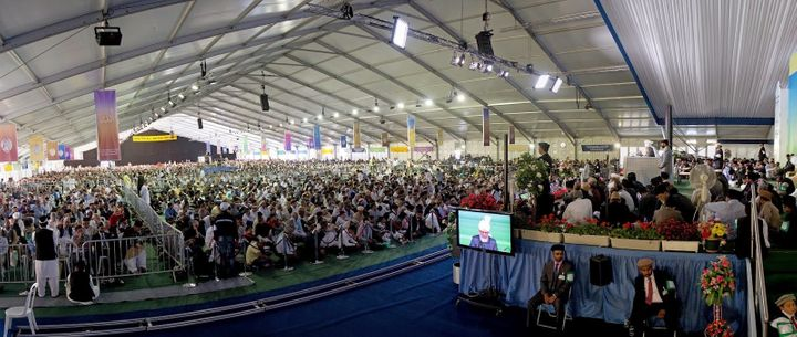 The largest Muslim gathering in the UK