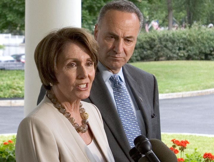 Strong fundraising by Democratic congressional candidates could help House Democratic Leader Nancy Pelosi (Calif.), Sen. Chuc