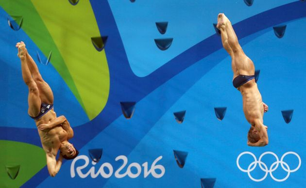 Jack Laugher and Chris Mears in