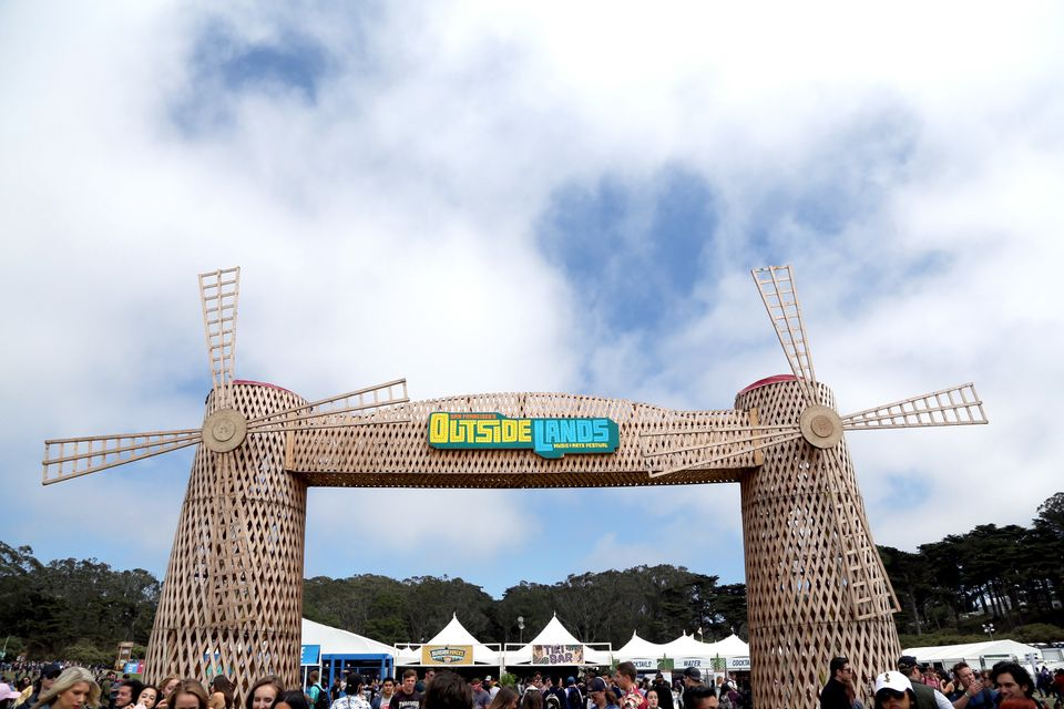 SAN FRANCISCO, CA - AUGUST 07:  The Windmill is seen during the 2016 Outside Lands Music And Arts Festival at Golden Gate Par