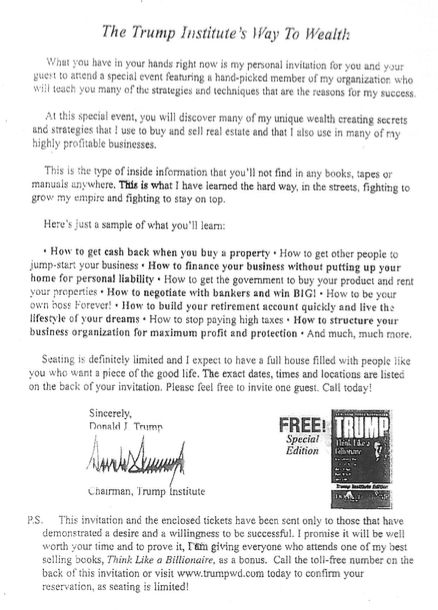 trump how to get rich pdf