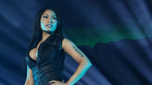 NEW YORK, NY - OCTOBER 20:  Nicki Minaj performs during Tidal X: 1020 at Barclays Center on October 20, 2015 in the Brooklyn borough of New York City.  (Photo by Taylor Hill/FilmMagic)
