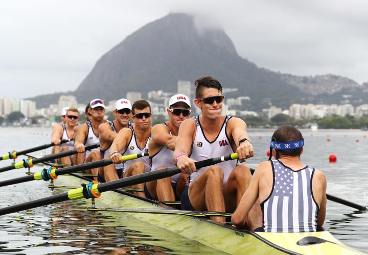 USA rowing team coxswain Sam Ojserkis said consistency is what keeps his sleep on track.