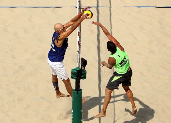 USA beach volleyball player Phil Dalhausser says naps are essential to his sleep game.