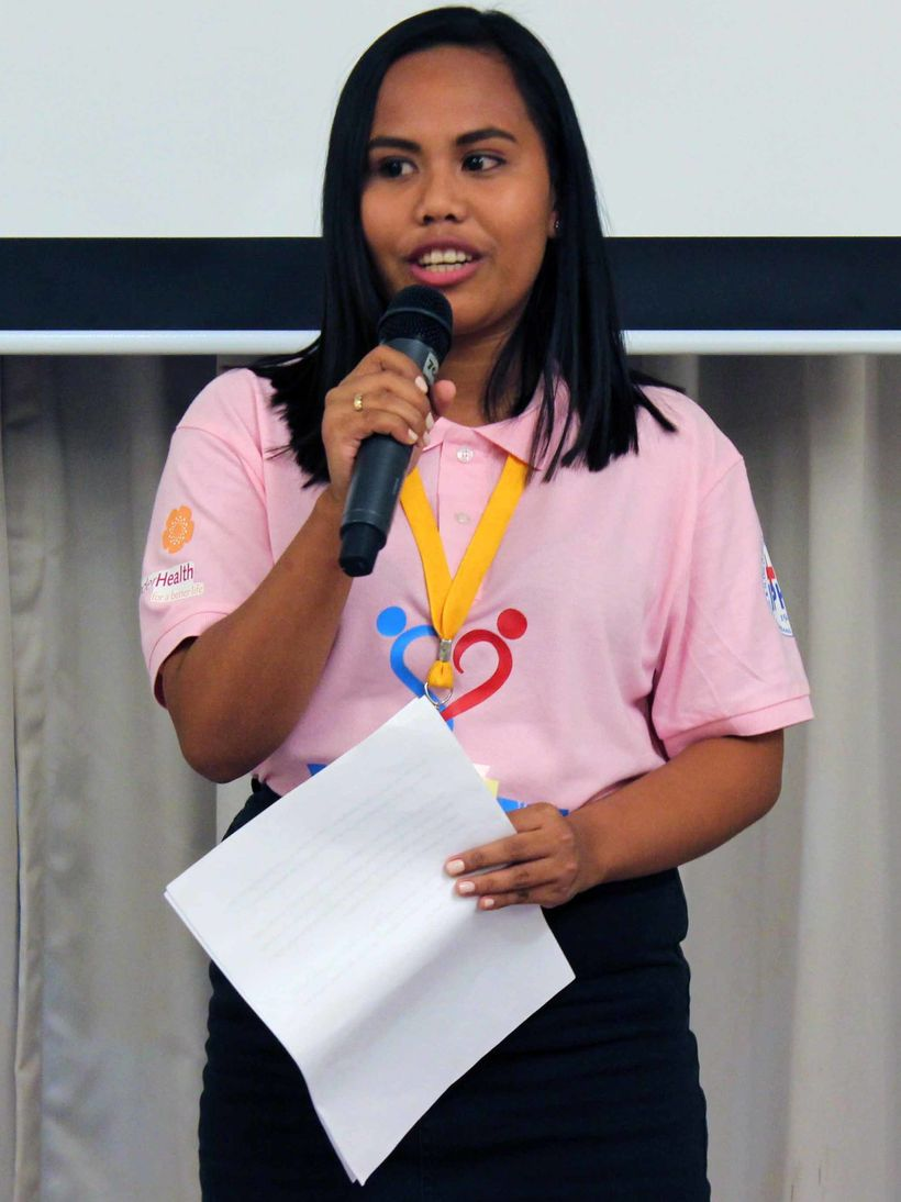 """Young moms can relate to me because I am young like them.&rdquo; --Tzytel Castro, the Philippines. <a href=""https://www.enge"