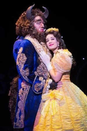 Sam Hartley and Brooke Quintana in <br>a scene from&nbsp;<strong><i>Beauty and the Beast</i></strong>&nbsp;&nbsp;
