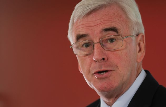 John McDonnell claimed people had been denied their 'democratic