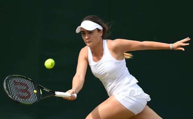 British tennis player Gabriella Taylor spent four days in intensive