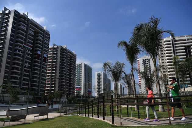 Waste from The Olympic Village will be used to create the