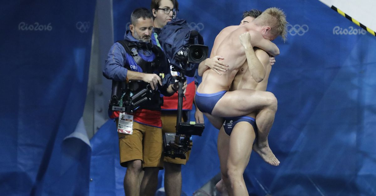 Chris Mears And Jack Laugher Diving Celebration Media Coverage ...