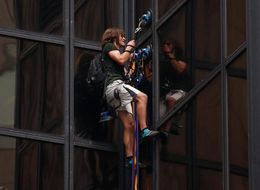 A Lot Of People Are Making Fun Of The Trump Tower Climber On Twitter