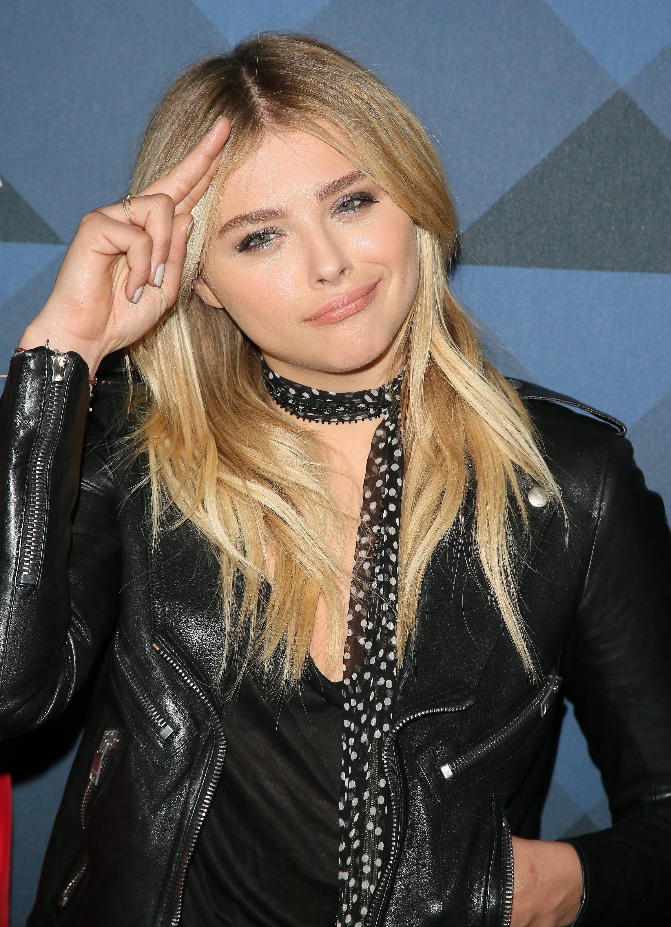 HOLLYWOOD, CA - FEBRUARY 12: Actress Chloe Grace Moretz attends the Delta Air Lines celebrates 2016 GRAMMY Weekend with 'Sites and Sounds' private performance with Leon Bridges on February 12, 2016 in Hollywood, California. (Photo by JB Lacroix/WireImage)