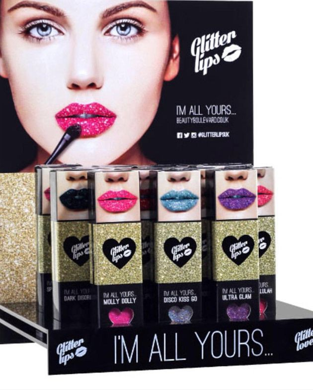 Glitter Lips is priced at £12.50 and comes in 17