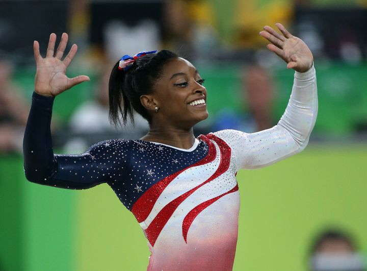 After an NBC announcer refused to acknowledge Simone Biles' adoptive parents as her parents, she set the record straight.