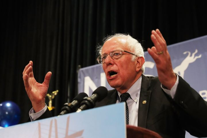 "Decriminalizing marijuana is among the aimsof Sen. Bernie Sanders' (I-Vt.) ""political revolution."""