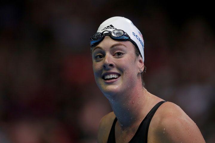 Olympic athlete Allison Schmitt isopening up about depression.