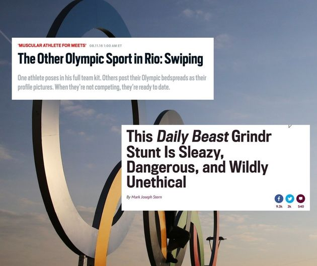 The Daily Beast Apologises After Being Accused Of Outing Gay Olympians With 'Unethical' Grindr