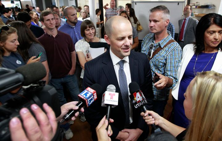 "A senior adviser to Evan McMullin said ""there's no other conservative in this race."""